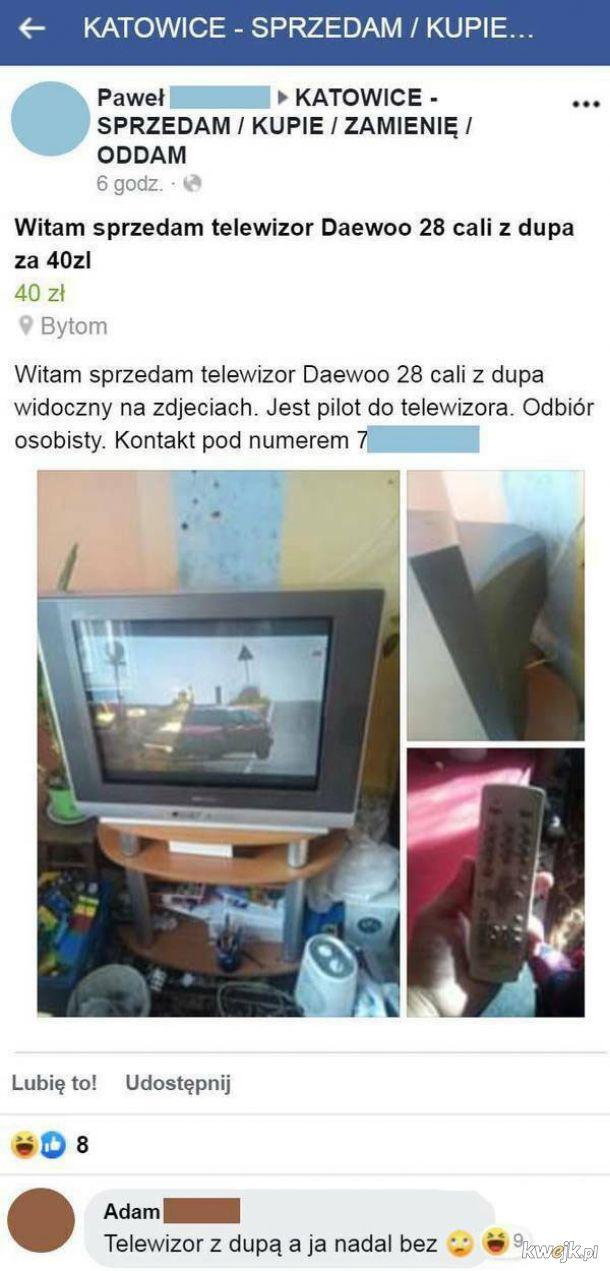 Telewizor z dupą
