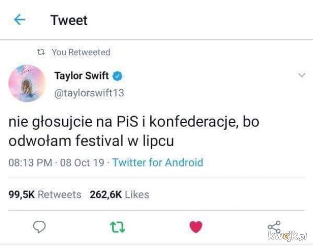Taylor mówi jak jest