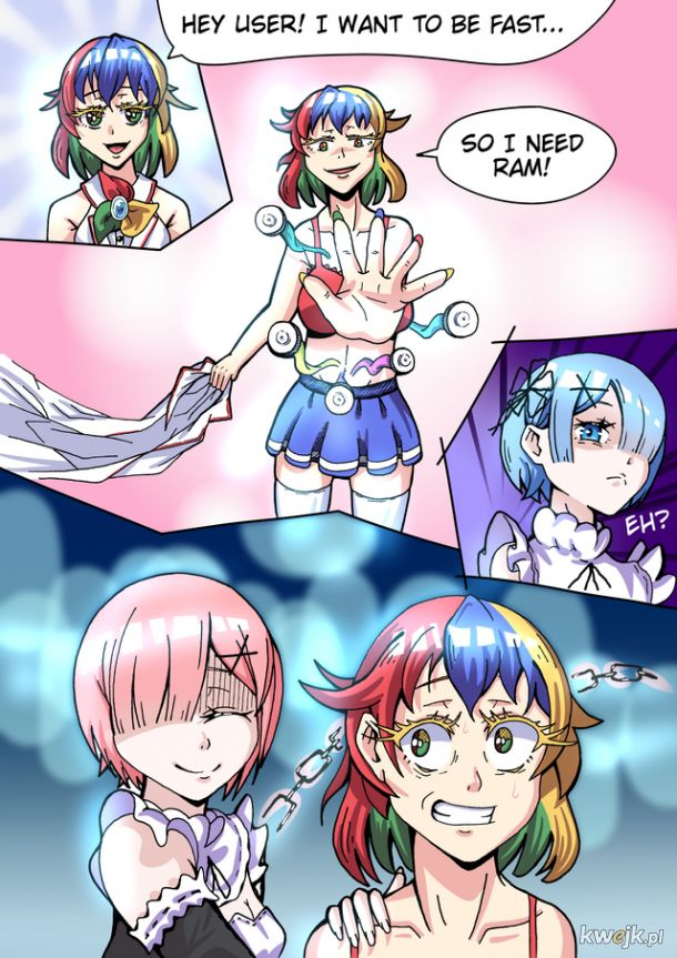 REM RAM ROM