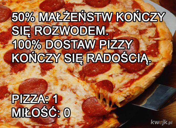 PIzza vs miłość