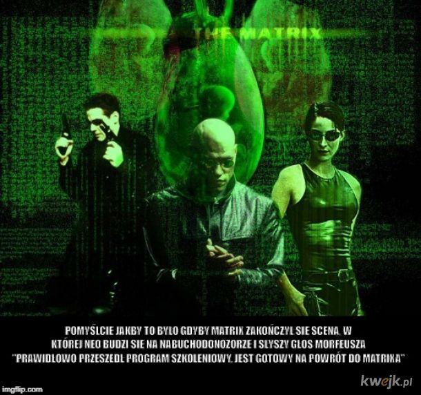 Alternatywne zakończenie Matrixa