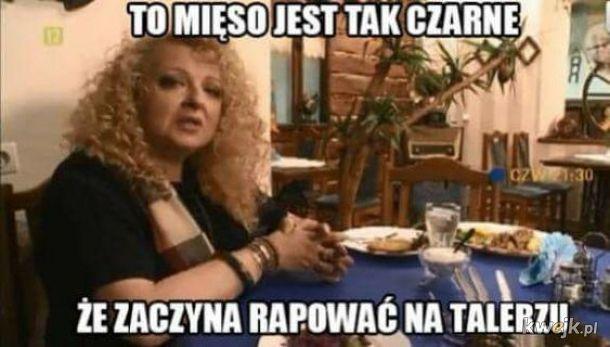 Raper na talerzu