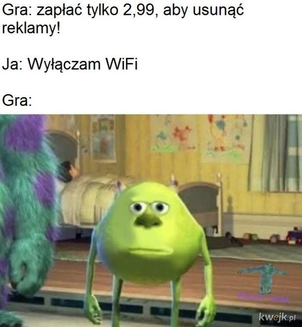 wymagane jest połączenie z Internetem