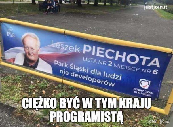 Zbiór najlepszych plakatów i memów wyborczych