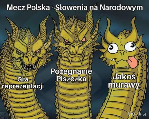 Memy po meczu Polska vs Słowenia. Żegnamy Piszczka