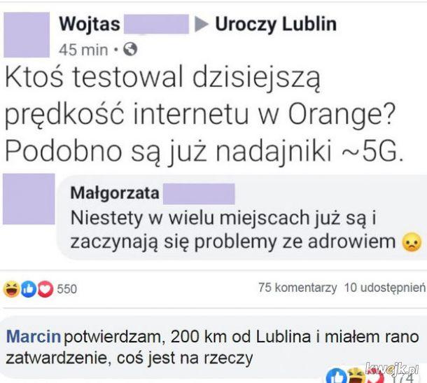 Test prędkość internetu