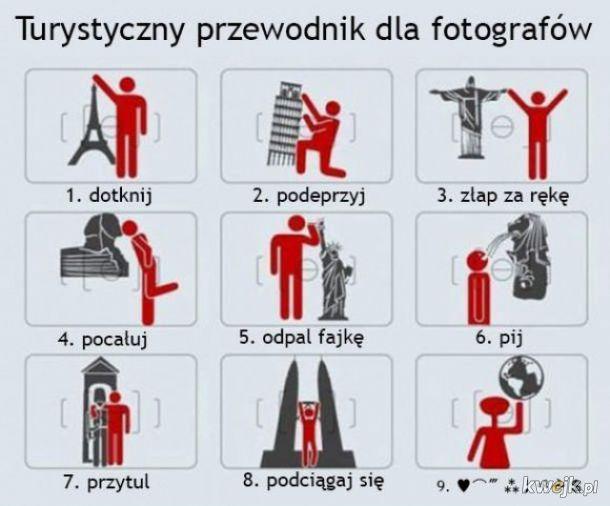 Turystyczny poradnik robienia zdjęć
