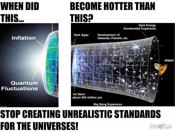 Stop wygórowanym standardom!