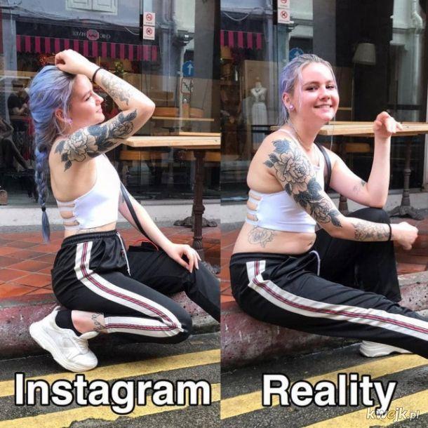 Instagram kontra rzeczywistość, bo ludzie nigdy się nie nauczą