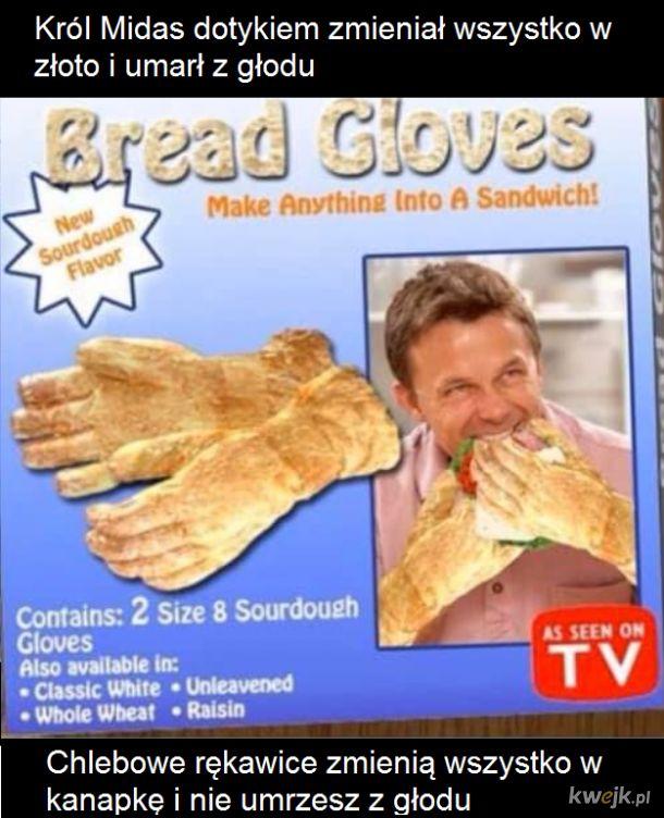 Rękawice supermocy