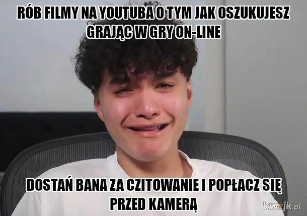 """""""Zawodowy gracz w Fortnite"""""""