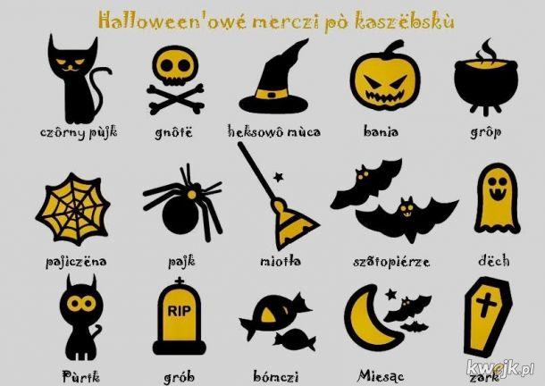 Halloween'owé merczi pò kaszëbskù