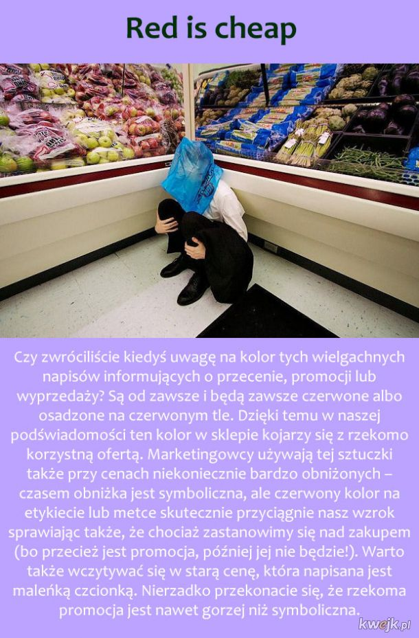 Triki wielkich sklepów, które sprawiają, że kupujesz więcej