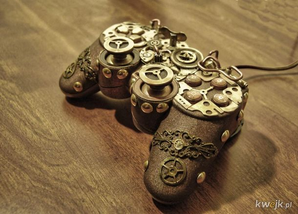 Steampunk PS Controller BY cybercrafts_FB