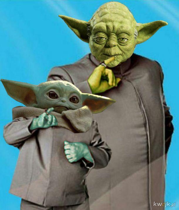 Doctor Yoda and mini me
