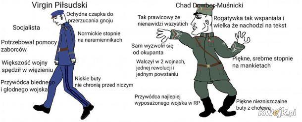 Piłsudski vs Dowbor-Muśnicki