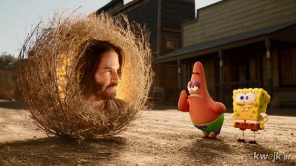 Nie wiem, o co chodzi, więc wrzucam zdjęcie Keanu Reevesa udającego krzew gorejący