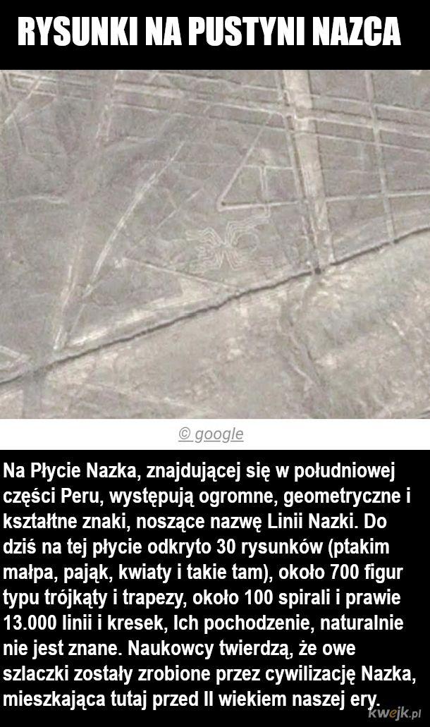 Cuda świata uchwycone przez satelity