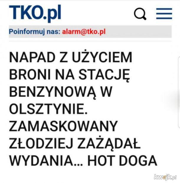 A w Olsztynie jak zwykle