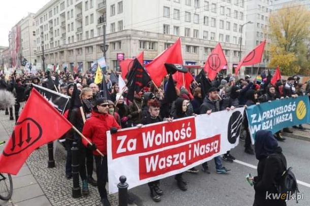 A komuniści na marszu już nikogo nie obchodzą...
