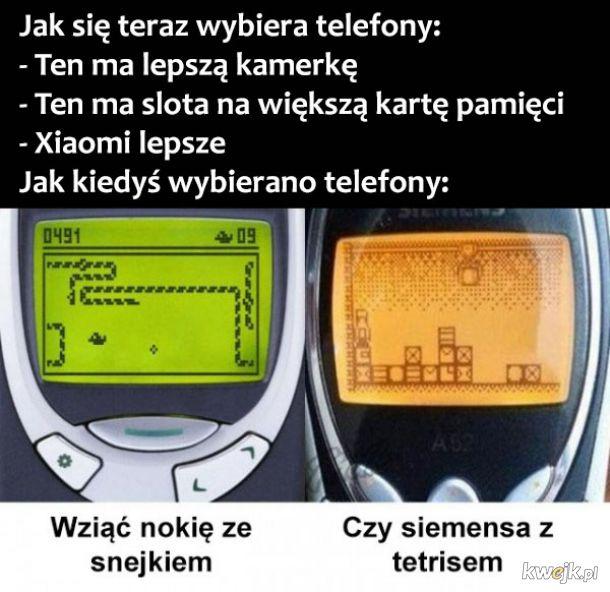 Wybór telefonów