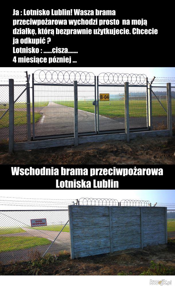Lotnisko w Lublinie