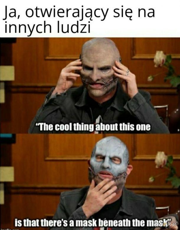 Maska pod maską
