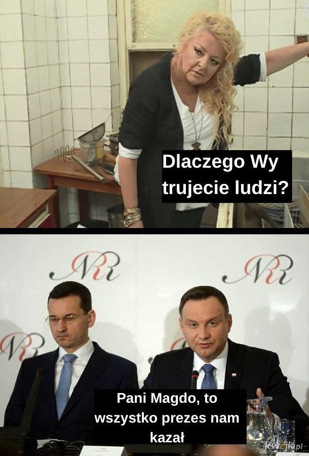 Magda Gessler na prezydenta!