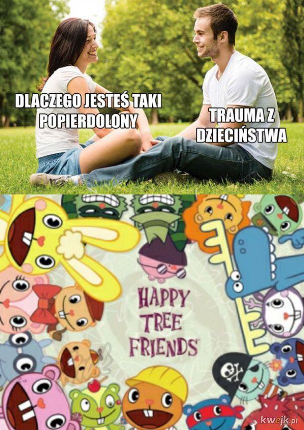 Trauma z dzieciństwa