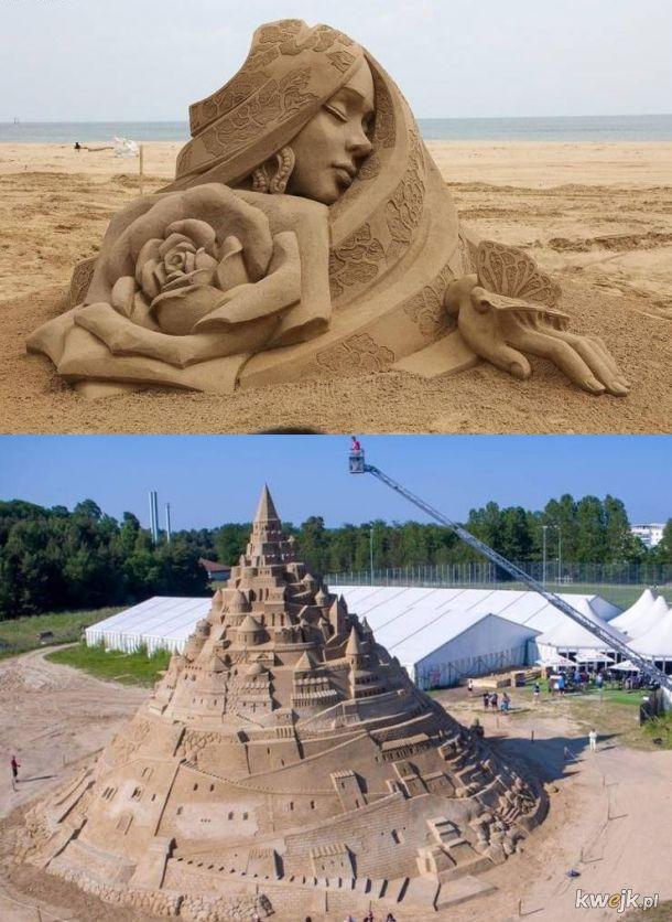 sztuka z piasku