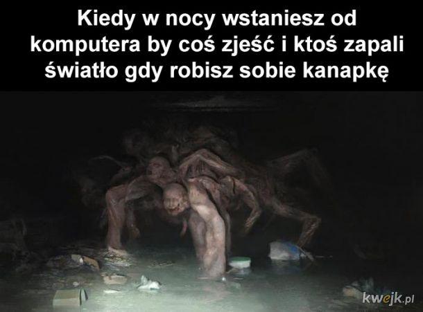 Kanapka w nocy