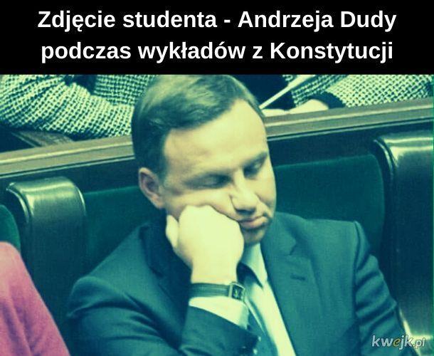 Spokojnie - wtedy to była jeszcze konstytucja PRL