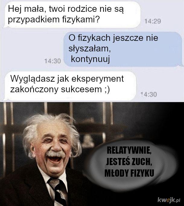 Podryw na fizyka