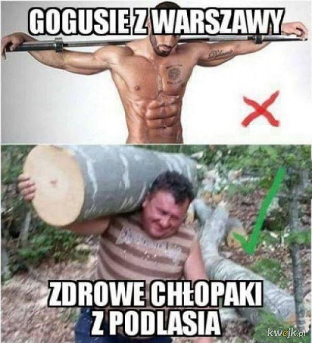 Warszawa vs. Podlasie