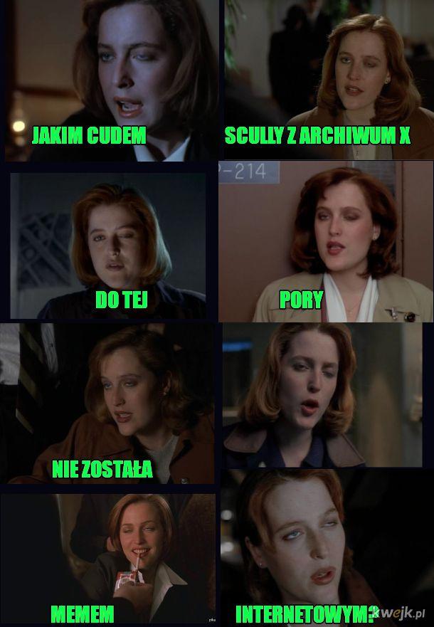 Scully jest wielką kobietą