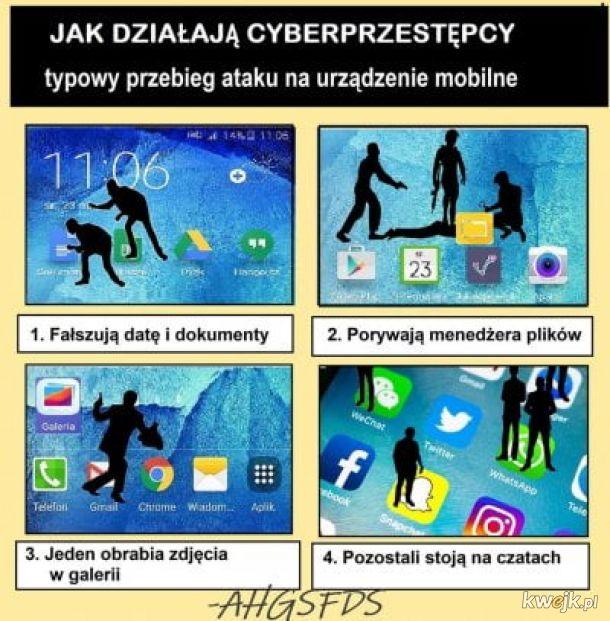Cyberprzestępcy atakują