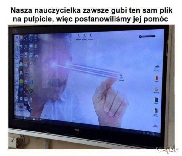 Pomoc nauczycielce