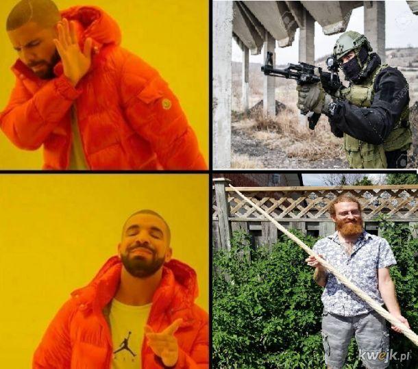 Prawidłowa broń przeciw terroryzmowi