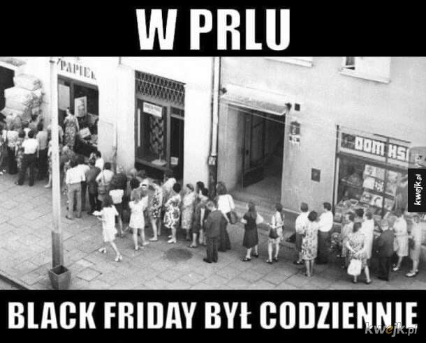 Co wy wiecie o Black Friday!