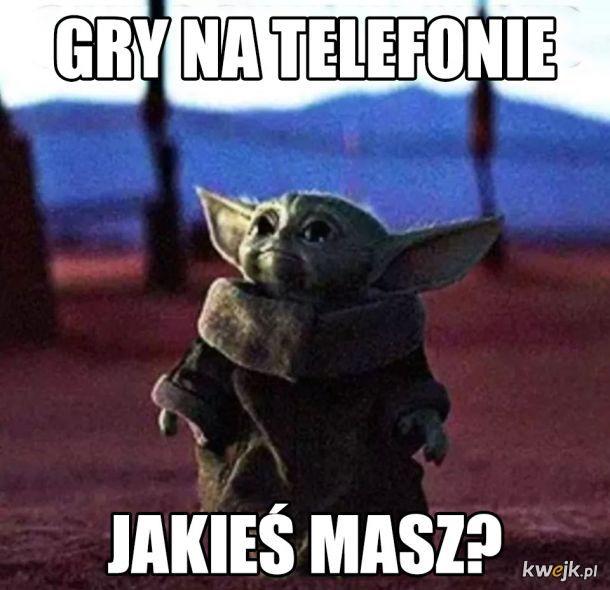 Memy z małym Yodą