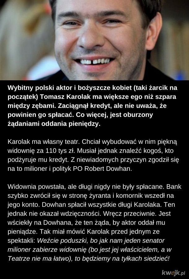 Polski celebryta