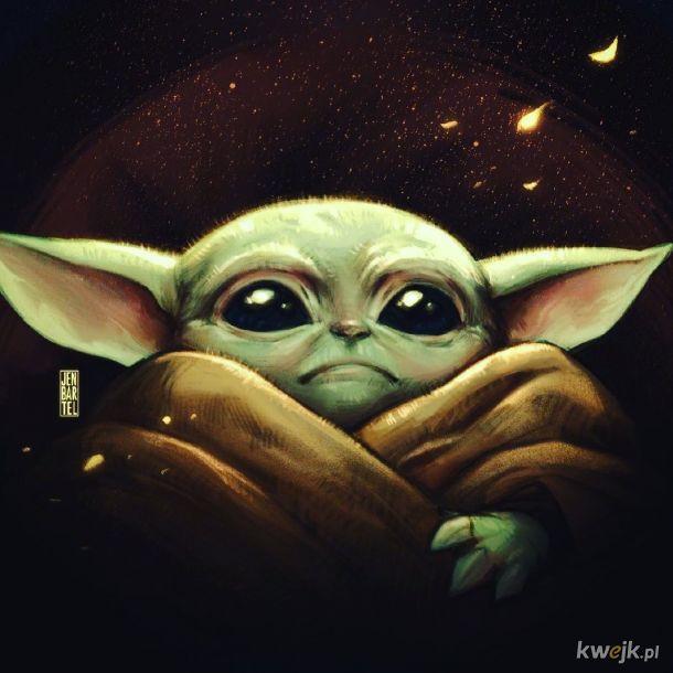 Baby Yoda w różnych wersjach