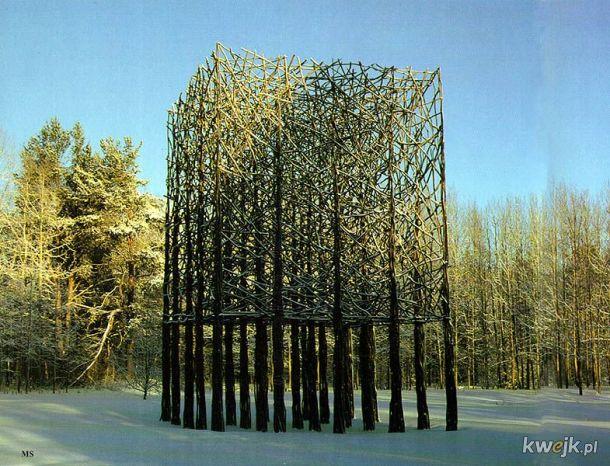 Rzeźby wykonane wyłącznie z naturalnych materiałów przez Fina Jaakko Pernu, obrazek 9