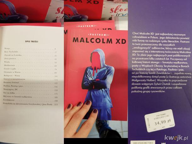 Znalazłam w empiku książkę z pastami xd