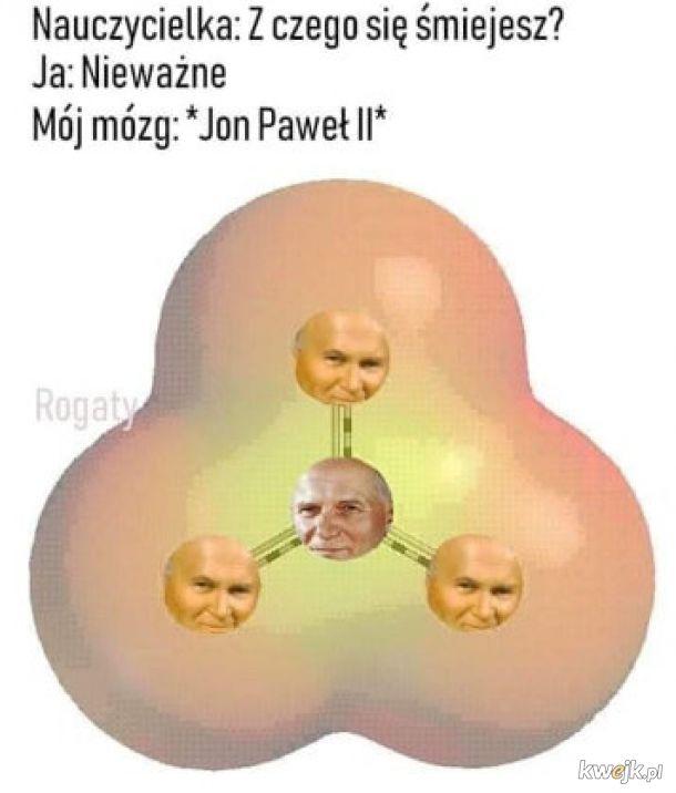 Wiązał małe atomy