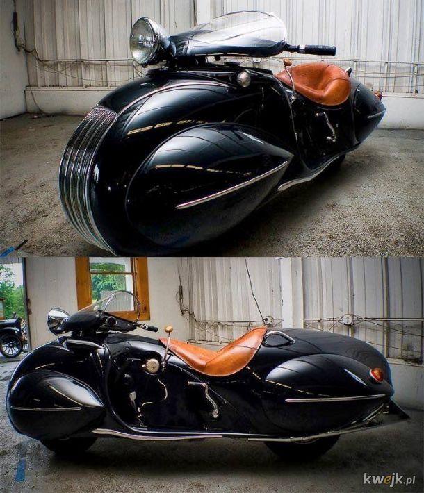 1930 Art Deco Henderson motorcycle