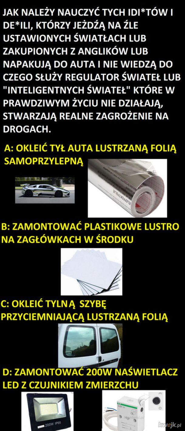 Jak żyć w polskiej patologi na drogach