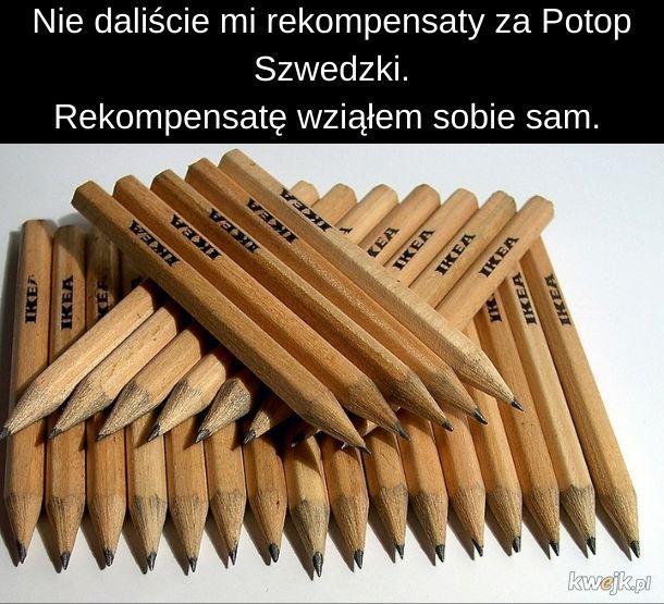 Też kradliście ołówki?