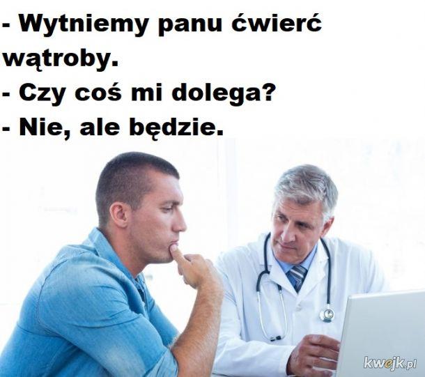 Doktor pomoże