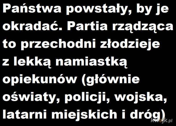 Państwo Okradańscy i Państwo Okradającyńscy